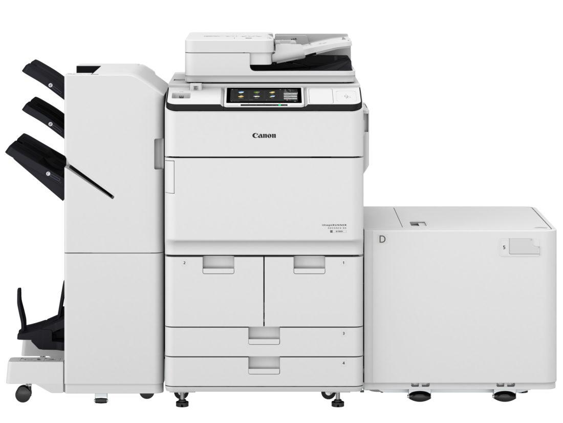 I R ADV DX 6700i Main Unit Booklet Finisher Paper Deck jpg